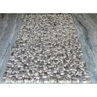 Pebbles Gray Area Rug Rug Size: Round 8'