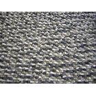 Cobblestone Coal Black Area Rug Rug Size: Round 8'