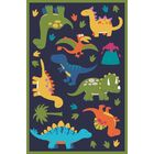 Navy Area Rug Rug Size: Rectangle 7' x 10'6