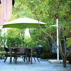 Paraflex 7' Cantilever Umbrella Fabric: Texsilk Olefin - Mint