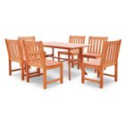 Monterry Classic 7 Piece Dining Set