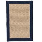Dartmouth Hand-Woven Navy Indoor/Outdoor Area Rug Rug Size: 8' x 10'