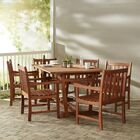 Monterry Traditional 7 Piece Solid Wood Dining Set