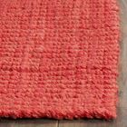 Weatherhill Hand-Woven Red Area Rug Rug Size: Rectangle 8' x 10'