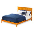 Graham Panel Bed Size: Full, Color: Caramel Latte