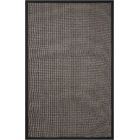 Stephenson Black Pearl Indoor/Outdoor Area Rug Rug Size: Rectangle 5' x 8'