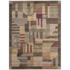 Greenwich Hand-Woven Brown Area Rug Rug Size: Rectangle 3'6