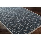 Cheshire Hand-Tufted Blue Area Rug Rug Size: Rectangle 9' x 12'