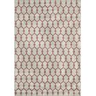Halliday Traditional Ivory Indoor/Outdoor Area Rug Rug Size: Rectangle 8'6