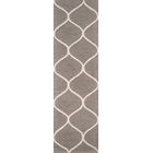 Caldwell Hand-Tufted Gray/Ivory Area Rug Rug Size: Rectangle 8' x 10'