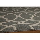 Halliday Gray Indoor/Outdoor Area Rug Rug Size: Rectangle 3'11