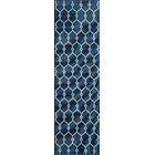 Halliday Ivory/Navy Indoor/Outdoor Area Rug Rug Size: Rectangle 8'6