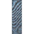Halliday Blue Indoor/Outdoor Area Rug Rug Size: Rectangle 7'10