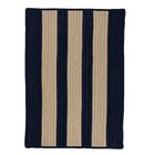 Seal Harbor Navy Indoor/Outdoor Area Rug Rug Size: Square 4'