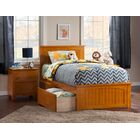 Graham Storage Platform Bed Color: Espresso, Size: Full