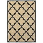 Bellwood Sand/Charcoal Outdoor Area Rug Rug Size: Rectangle 6'7
