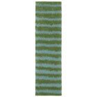 Gaia Hand-Tufted Green Area Rug Rug Size: Runner 2'3