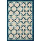 Ardleigh Navy Indoor/Outdoor Area Rug Rug Size: Rectangle 5'3