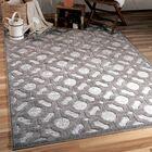 Dinsmore Gray Indoor/Outdoor Area Rug Rug Size: Rectangle 9' x 13'