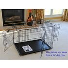 Mendez 2 Doors Folding Suitcase Pet Crate Size: 30