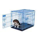 Millicent Puppy Training Retreat Pet Crate Color: Blue