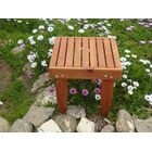 Thibeault Wooden Side Table Color: Mahogany