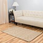 Hand-Tufted Tan Area Rug Rug Size: 3' x 5'