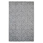 Modern Marvel Hand-Tufted Gray Area Rug Size: 5' x 8'