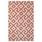 Modern Marvel Hand-Tufted Devin Orange/Ivory Area Rug Size: 5' x 8'