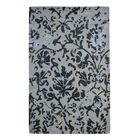 Wool/Viscose Floral Hand-Tufted Ivory/Brown Area Rug Rug Size: 5' x 8'