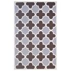 Wool Hand-Tufted Silver/Brown Area Rug Rug Size: 5' x 8'