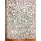 Shag Eyeball Woolen Hand Knotted White Area Rug Rug Size: Rectangle 4' x 6'