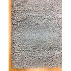 Shag Eyeball Woolen Hand Knotted Gray Area Rug Rug Size: Rectangle 8' x 10'