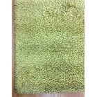 Shag Eyeball Woolen Hand Knotted Deco Gold Area Rug Rug Size: Rectangle 4' x 6'