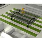Burnell Hand-Woven Wool Green/Silver Area Rug Rug Size: Rectangle 5' x 8'