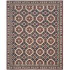 Salisbury Navy/Rust Area Rug Rug Size: Rectangle 9' x 12'