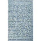 Martha Stewart Hand-Tufted Blue / Ivory Area Rug Rug Size: Rectangle 5' x 8'