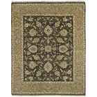 Clarkston Hand-Knotted Chocolate Area Rug Rug Size: Rectangle 8' x 10'
