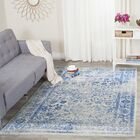 Hoyle Gray/Blue Area Rug Rug Size: Rectangle 6' x 9'