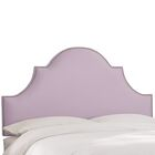 Delaware Upholstered Panel Headboard Size: California King, Upholstery Color: Lilac