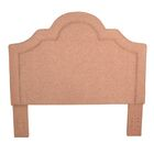 Bawnard Upholstered Panel Headboard Color: Hibiscuss
