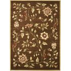 Taufner Brown Area Rug Rug Size: Rectangle 6'7