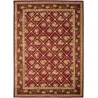 Taufner Red Area Rug Rug Size: Rectangle 9' x 12'