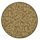 Beasley All Over Ivy Outdoor Rug Rug Size: Round 5'3