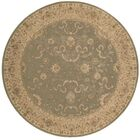 Lundeen Green Area Rug Rug Size: Round 8'