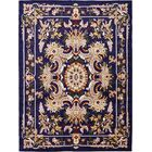 Leal Navy Blue Area Rug Rug Size: Rectangle 7' x 10'
