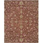 Davila Hand-Tufted Brown/Green Area Rug Rug Size: Rectangle 8' x 10'