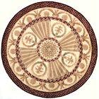Laurel Hand-Tufted Burgundy Area Rug Rug Size: Rectangle 8' x 11'
