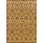 Montes Gold/Brown Area Rug Rug Size: Rectangle 4' x 5'9