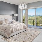 Vianney Aubusson Light Gray Area Rug Rug Size: Round 7'10
